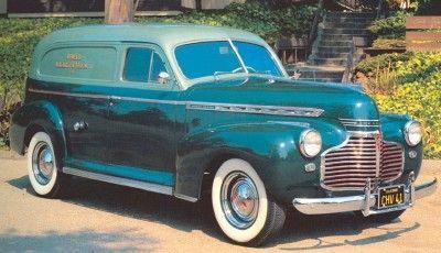 1941 Chevrolet Serie AG Sedan Entrega y Recogida Coupe