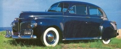 1941 de Dodge Custom Town Sedan popularidad