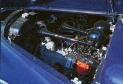 1941 de Dodge Custom Town Sedan Motor