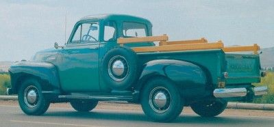 1948-1953 Series Chevrolet 3100 de media tonelada Pickups
