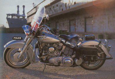 1951 Harley-Davidson Policía Especial