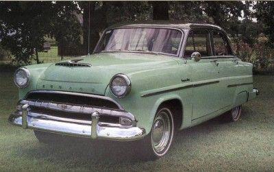 El 1954 Hudson Super Jet cuatro puertas cuesta $ 1.954.