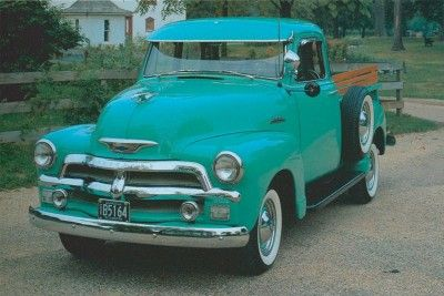 1954 Chevrolet Serie 3100 de media tonelada Pickups