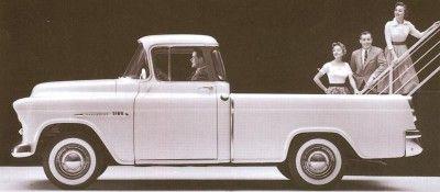 1955 Chevrolet Cameo Carrier
