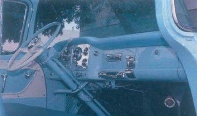 1955 GMC Suburban vista interior Pickup