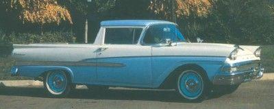 1957-1958 Ford Ranchero y Courier