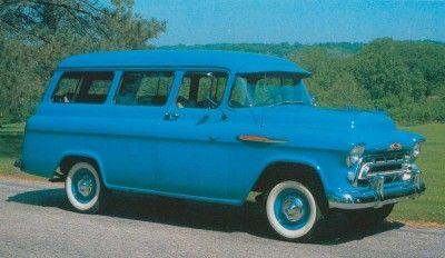 1957 Chevrolet Suburban Carryall 3106/3116