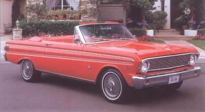1.964 Ford Falcon Futura convertible