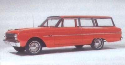 1963 Ford Falcon Deluxe carro de dos puertas