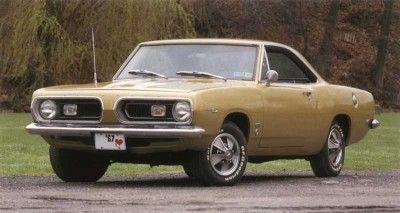 Fotografía - 1967-1969 Plymouth Barracuda 383/440