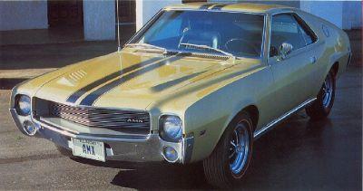 Fotografía - 1968 AMC AMX