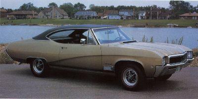 Fotografía - 1968 Buick GS 400