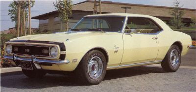Fotografía - 1968 Chevrolet Camaro SS 396