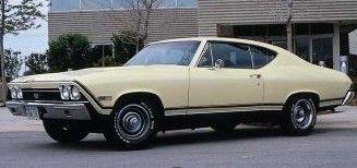 Fotografía - 1968 Chevrolet Chevelle SS 396