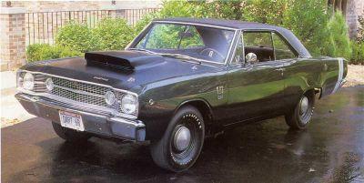 Fotografía - 1968 de Dodge del dardo gts 440