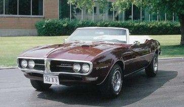 Fotografía - 1968 Pontiac Firebird 400