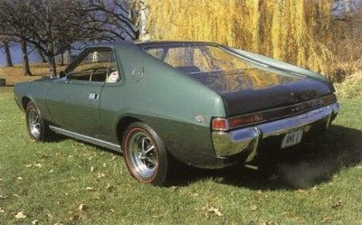 Fotografía - 1969 de AMC AMX 390