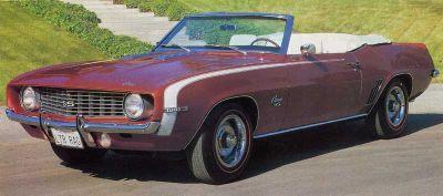 Fotografía - 1969 Chevrolet Camaro SS 396
