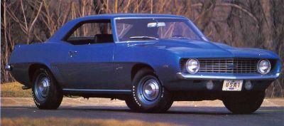 Fotografía - 1969 Chevrolet Camaro ZL1