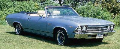 Fotografía - 1969 Chevrolet Chevelle SS 396