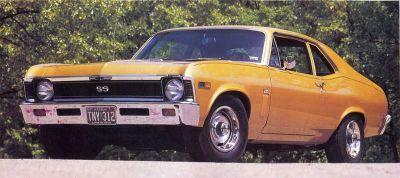 Fotografía - 1969 Chevrolet Nova SS 396