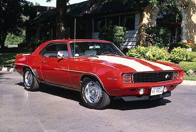 Fotografía - 1969 Chevy Camaro Z28