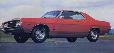 Fotografía - 1969 Ford Fairlane Cobra 428