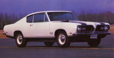 Fotografía - 1969 de Plymouth Cuda 440