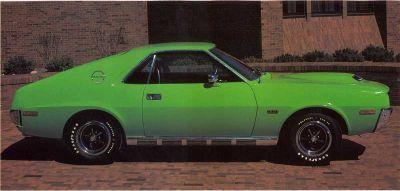 Fotografía - 1970 AMC AMX