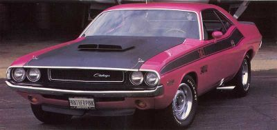 Fotografía - 1970 Dodge Challenger t / a
