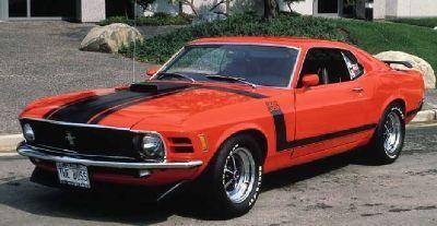 Fotografía - 1970 Ford Mustang Boss 302