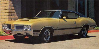 Fotografía - 1970 Oldsmobile 4-4-2 w-30