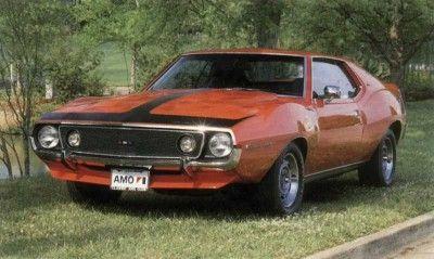 Fotografía - 1971-1974 jabalina de AMC AMX 401