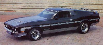 Fotografía - 1,971 Ford Mustang Boss 351