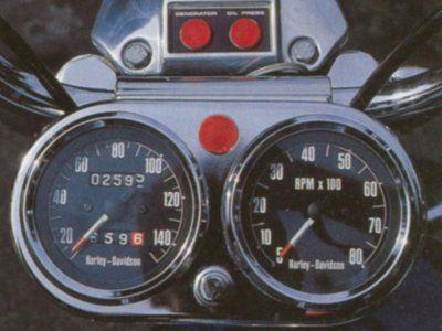 1,971 Harley-Davidson XLH Sportster