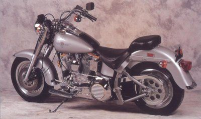 1990 Boy Harley-Davidson Fat FLSTF