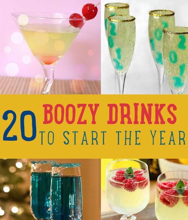 Fotografía - 20 Boozy bebidas para empezar el año | Mejores Bebidas alcohólicas
