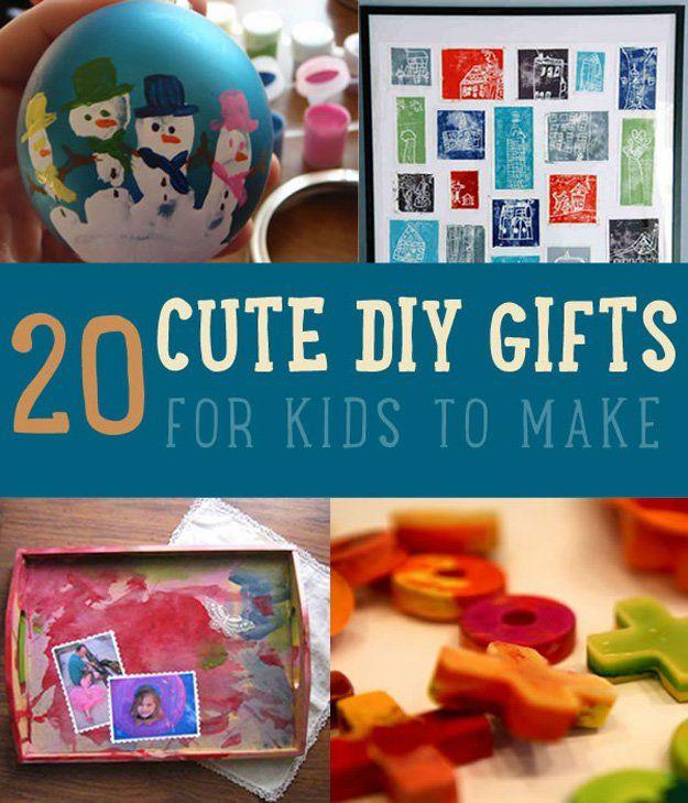 Fotografía - 20 regalos de DIY lindas para los niños a hacer | Manualidades para niños