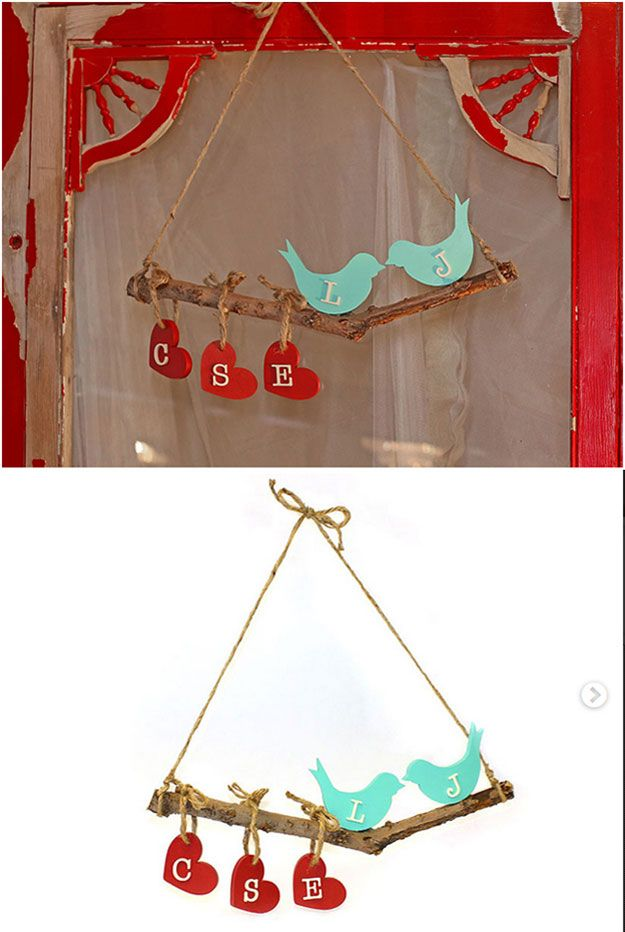 DIY Sala Hanging Shabby Chic Decoración de pared | http://artesaniasdebricolaje.ru/diy-shabby-chic-decor/