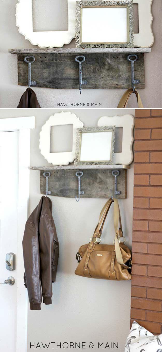 DIY proyectos de artesanía para el Hogar del estilo Shabby Chic | http://artesaniasdebricolaje.ru/diy-shabby-chic-decor/