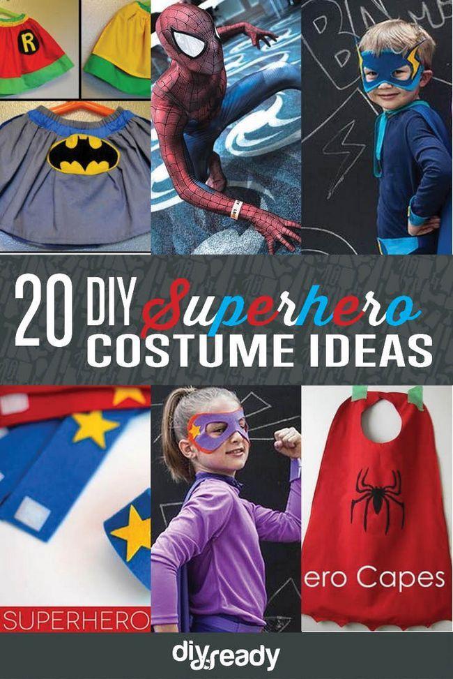 Fotografía - 20 de bricolaje ideas para disfraces de superhéroes: Hazte una Homemade Vigilante