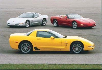 Fotografía - 2001 Corvette