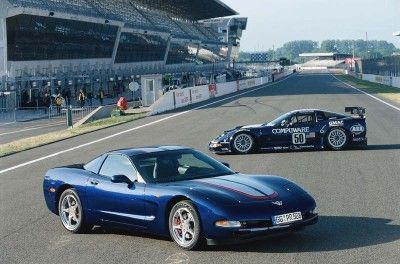 Fotografía - 2004 Corvette