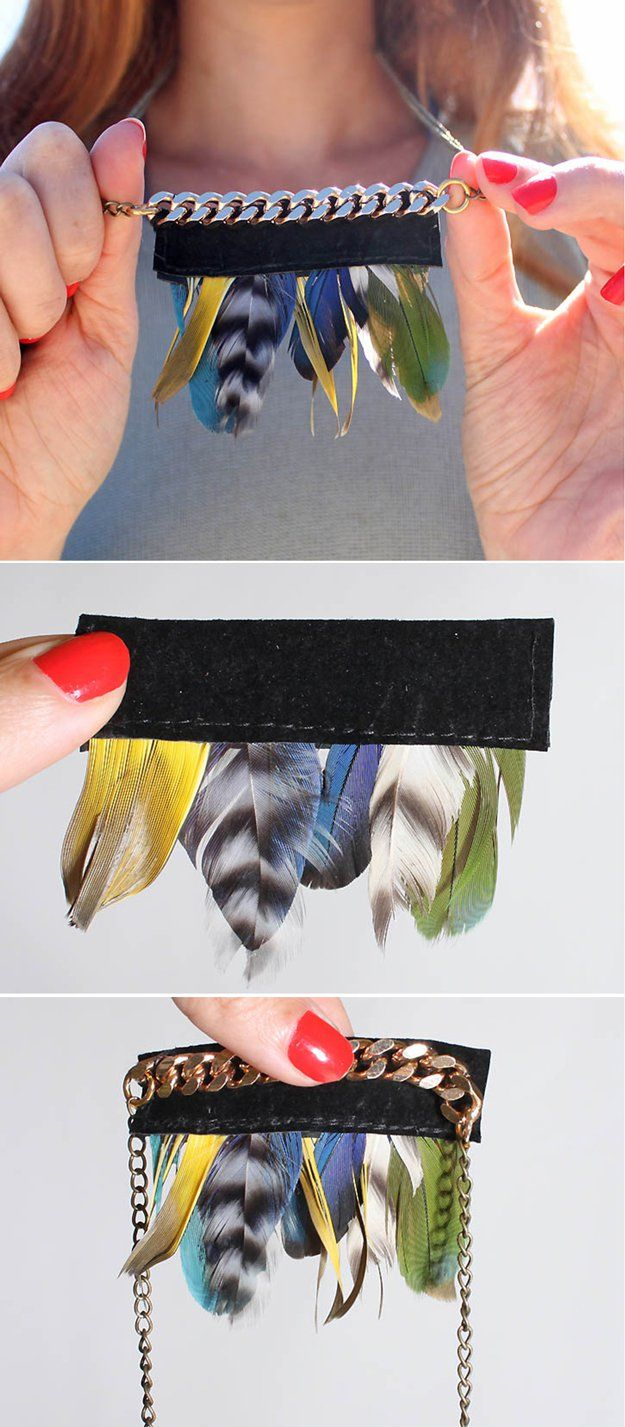 Joyería de bricolaje Ideas Anthropologie | http://artesaniasdebricolaje.ru/diy-decor-anthropologie-hacks/