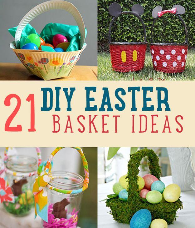 Fotografía - 21 DIY cesta de Pascua Ideas que le tendrá Hoppin '