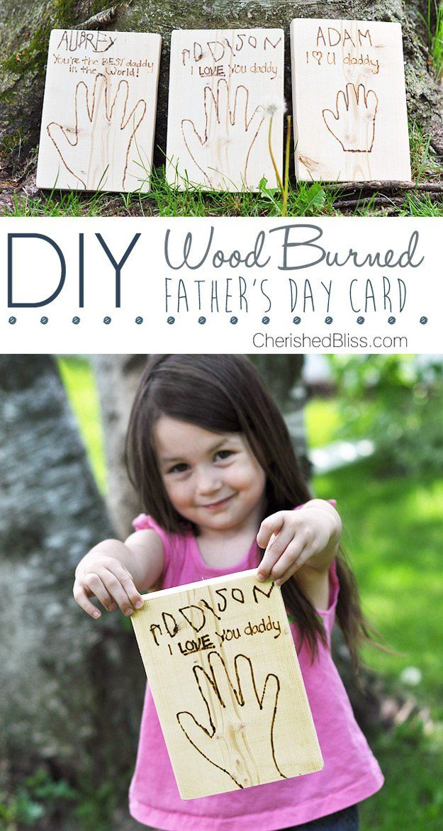 Padre Creador y Cool's Day Card Craft | http://artesaniasdebricolaje.ru/21-diy-fathers-day-cards/