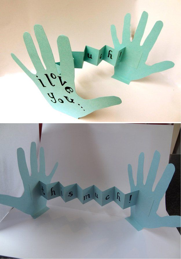 Lindo y Cretive DIY Padre's Day Card Tutorial | http://artesaniasdebricolaje.ru/21-diy-fathers-day-cards/
