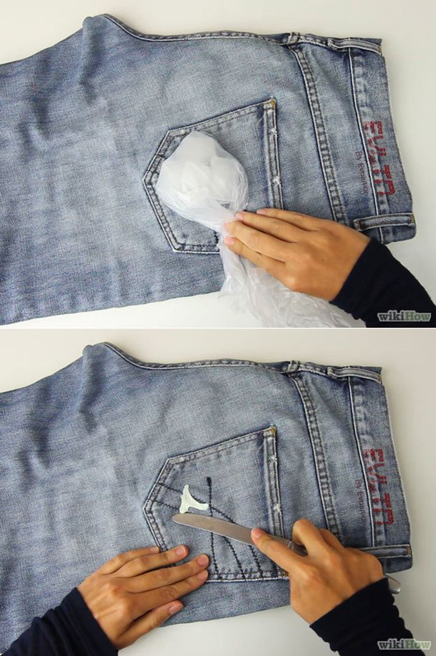 DIY Ropa Hacks que puede ahorrar dinero | http://artesaniasdebricolaje.ru/22-diy-hacks-to-make-your-clothing-last-longer/