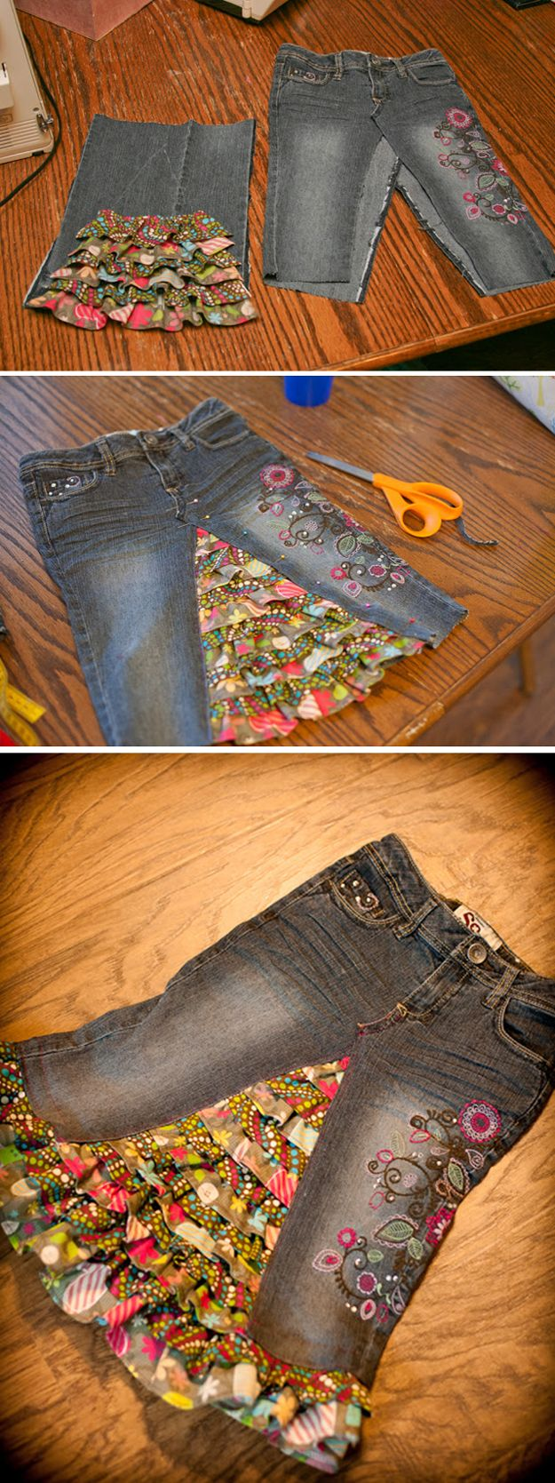 Bricolaje remodelar ideas para hacer ropa Última | http://artesaniasdebricolaje.ru/22-diy-hacks-to-make-your-clothing-last-longer/