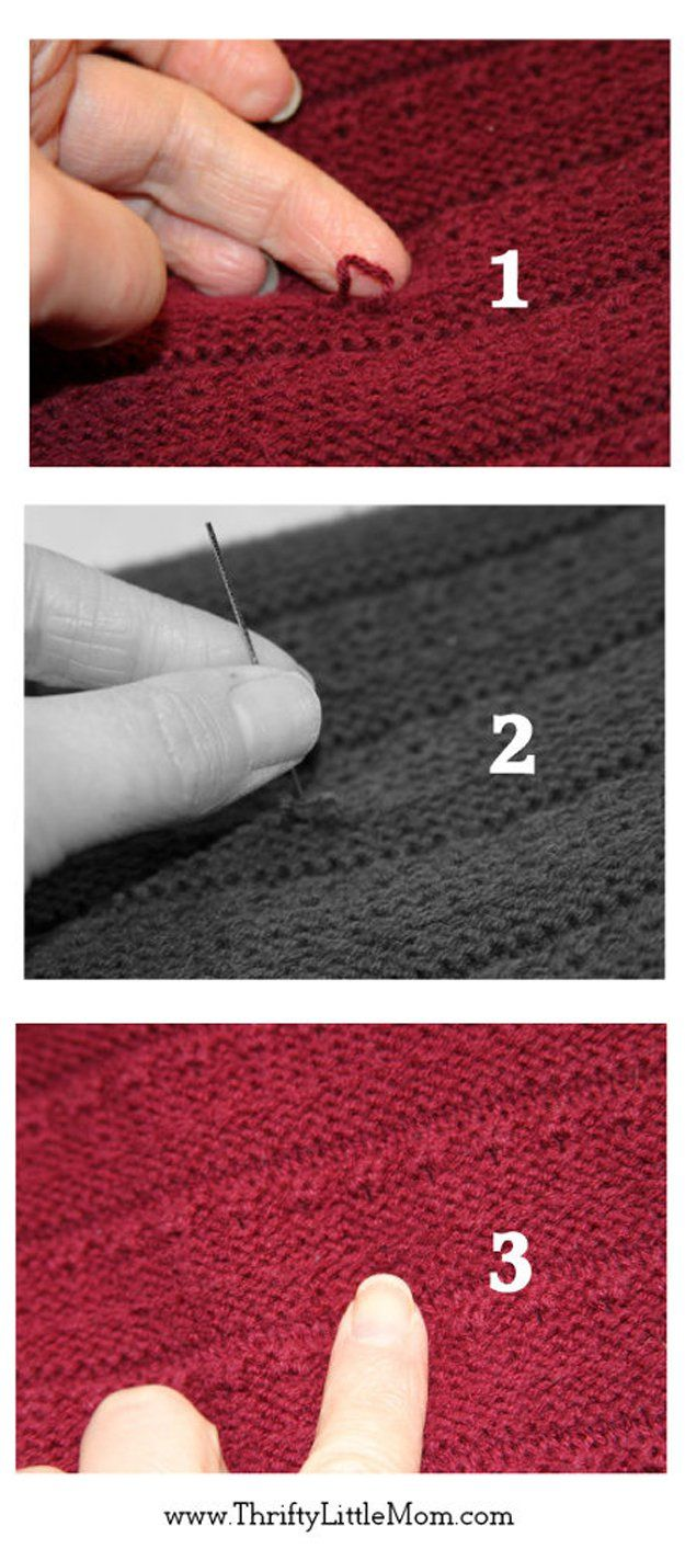 DIY Ropa Hacks y Sugerencias | http://artesaniasdebricolaje.ru/22-diy-hacks-to-make-your-clothing-last-longer/